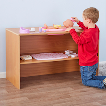 Baby Doll Changing and Seating Unit  medium