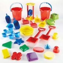 Plastic Sand Play Tool Set 31pcs  medium