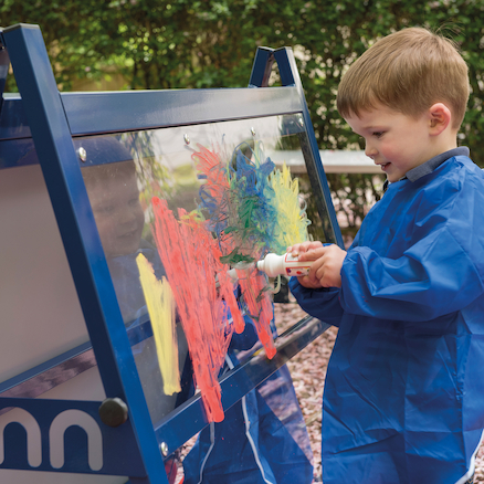 Toddlers Double Mirror And Acrylic Easel  large