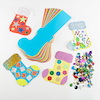 Precut Stocking Cards Assorted 30pk  small