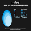 Mitre Cub Soft Feel Rugby Ball Size 3  small
