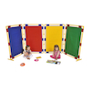 Set of 4 Coloured Rectangular Divider Panels  small