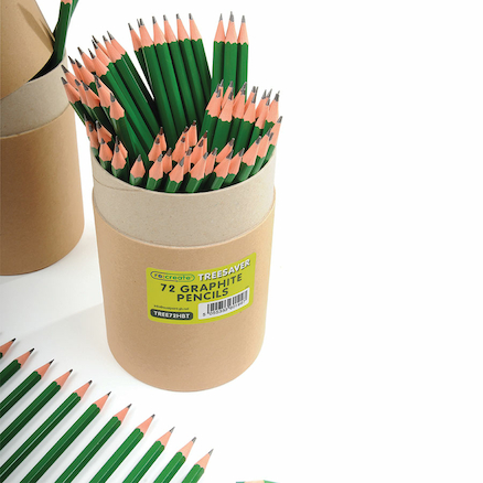 90% Recycled HB Pencils  large