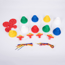 Giant Lacing Buttons 54pk  medium