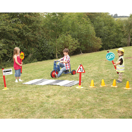 Role Play Road Safety Set 17pcs  large