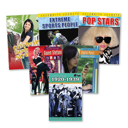 KS2 Popular Culture Books 6pk  large