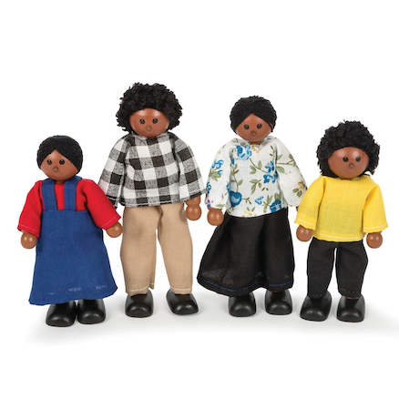 Small World Multicultural Doll Family Multibuy  large