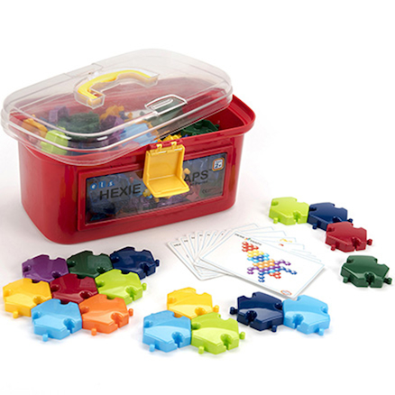 Hexagonal Slotting Pieces 96pk  large