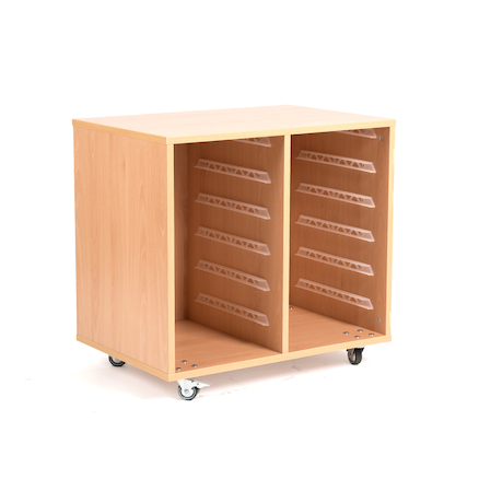 12 Shallow Tray Storage Unit Without Trays  large