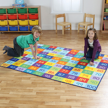 Rainbow Number Mats Buy All and Save  medium
