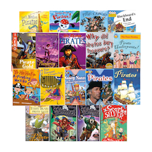 KS1 and KS2 Pirate Story Books 10pk  medium