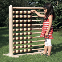 Giant Wooden Outdoor Abacus  medium