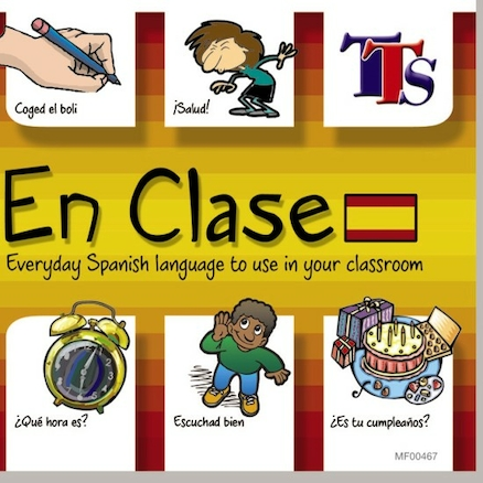 En Clase Spanish Teacher Language Learning CD  large