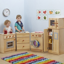 Hardwood Role Play Kitchen Buy all and Save  medium