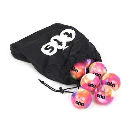 Hockey Swirl Design Training Balls with bag 12pk  large