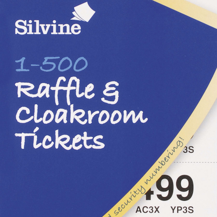 Cloakroom and Raffle Tickets 12pk  large