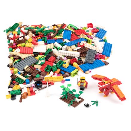 LEGO Sceneries Set 1207pcs  large