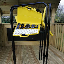 Stomper Glockenspiel Outdoor Music Frame and Instruments  medium