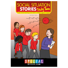 Tricky Times Social Situation Stories Book  medium