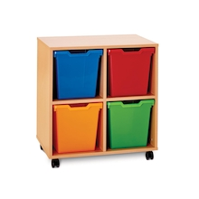 Pop Storage 4 Jumbo Trays  medium
