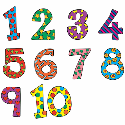 Funky Playground Numbers  large