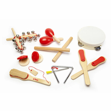 Musical Instruments Wooden Percussion Set 14pcs  medium