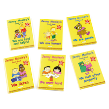 Jenny Mosley's Small Book of Golden School Rules Book Pack 6pk  medium