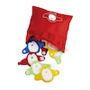 Fastening Manipulative Penguins 16pcs  small