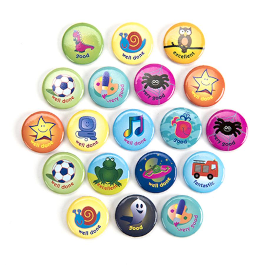 Buy Motivational Reward Badges 20pk Tts