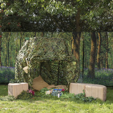 Outdoor Immersive Environments Backdrop Forest  large