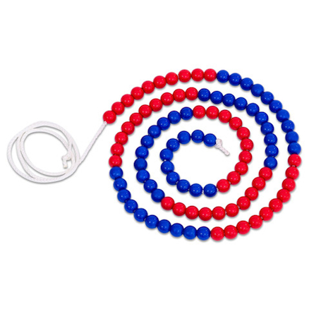 Red and Blue Bead String  large