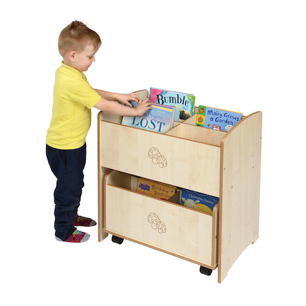 Toddler Two Piece Book Unit  large