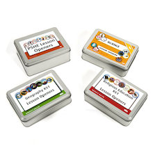 Lesson Opener Activity Cards Tin Set  medium