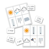 Weather French Vocabulary Bingo Game  small