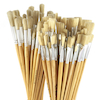 Long Handled Hog Hair Paint Brushes 120pk  small