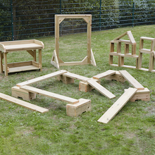 Outdoor Wooden Play Collection  medium
