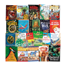 Myths and Legends Book Pack 25pk  medium