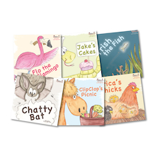 Early Soundplay Speech and Language Books 6pk  medium