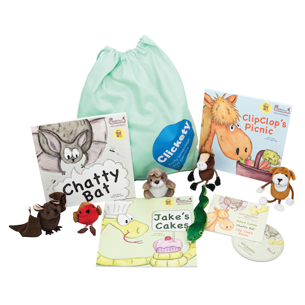 Clickety Speech Booster Pack Buy all and Save  large