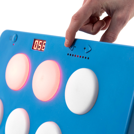 Portable Light Up Reaction Wall Game  large