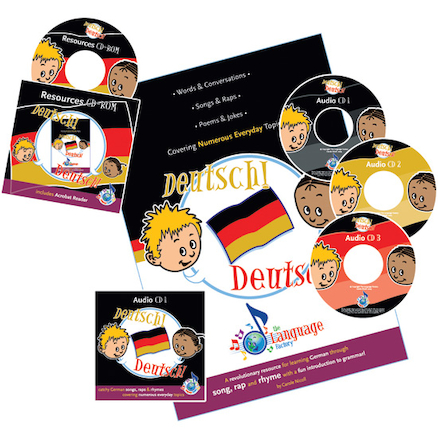 Deutsch! Deutsch! German Songs Audio CD Pack  large