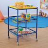 Multi Purpose Metal Trolley W52 x H65cm  small