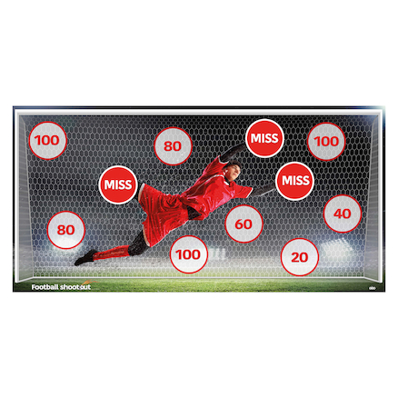 Football Target Goals  large