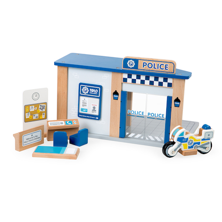 Small World Police Station Set  large