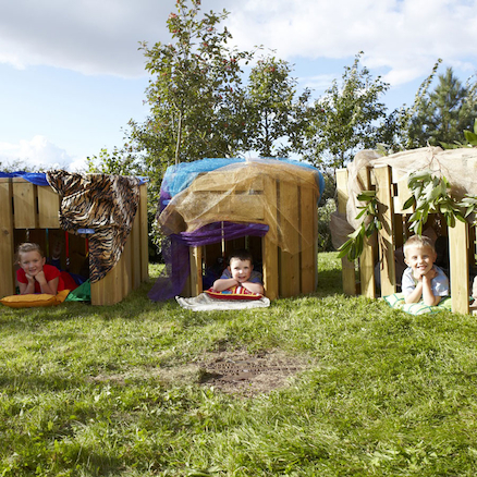Crawl In Wooden Dens Multi Buy Assisted Delivery  large