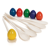 Sports Day Wooden Egg and Spoon Set 6pk  small