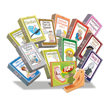 Flip-It KS3 SPaG Activity Card Set  medium