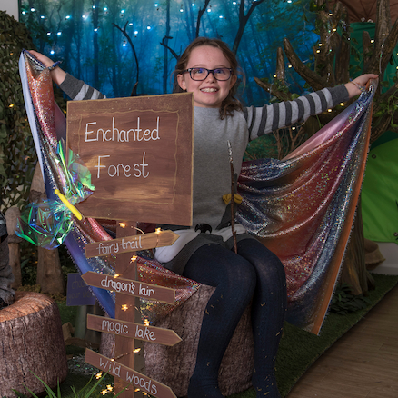 TTS Immersive Environment Enchanted Forest  large