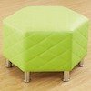 Breakout Area Octagonal Quilted Stools 4pk  small