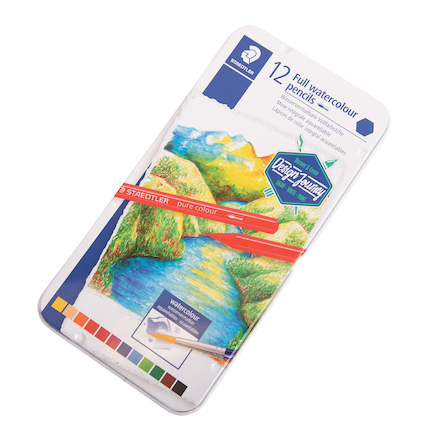 Staedtler Full Watercolour Pencils 12pk  large